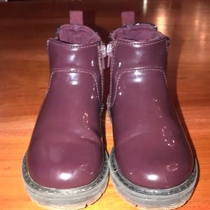Zara 23 in kids purple boot